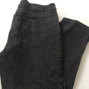 Cold water Creek black wash stretch jeans 14P